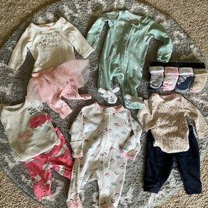 Girl Newborn Bundle